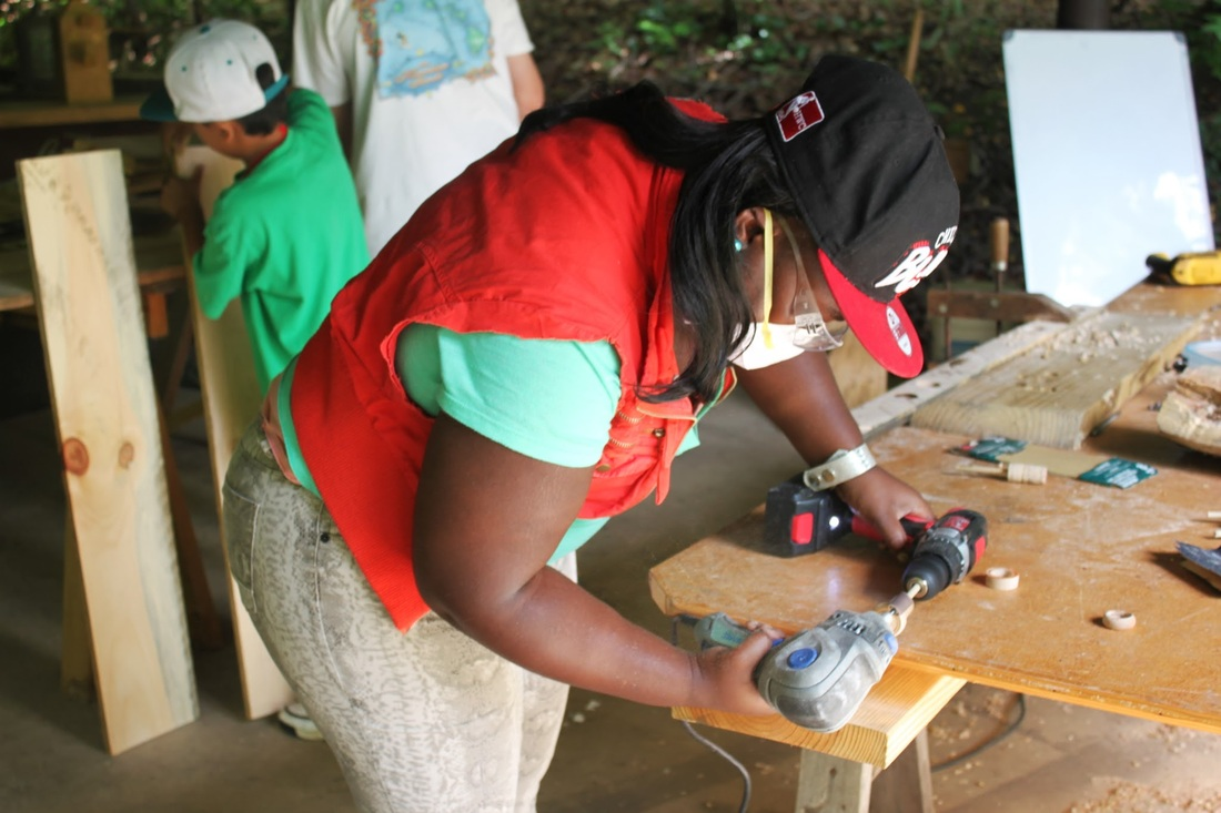 Picture of Carpentry Workshop at Under One Sky Camp